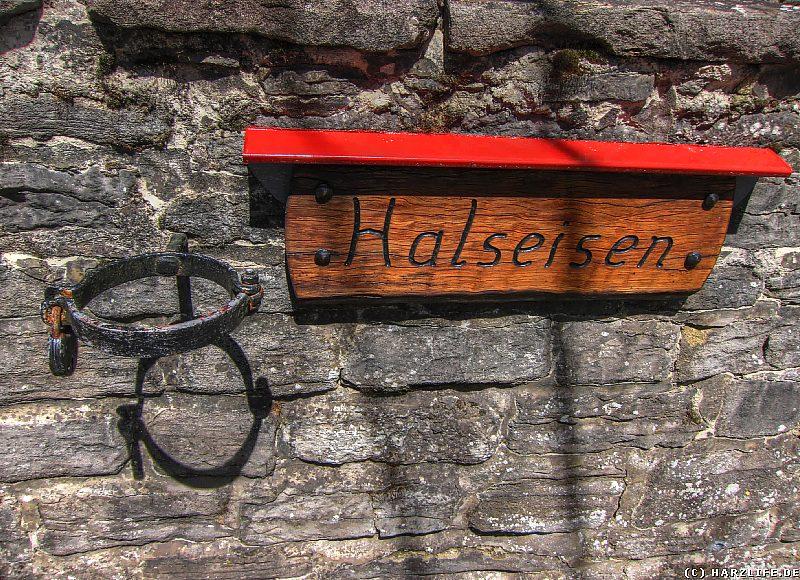 Das Halseisen in Questenberg
