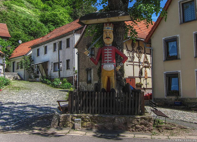 Der Roland in Questenberg