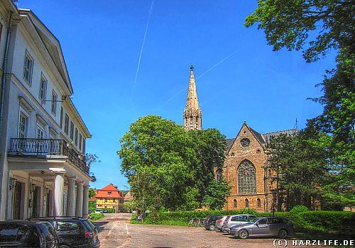 Roßla - Schloß und Kirche
