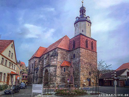 Die St.-Georg-Kirche in Mansfeld