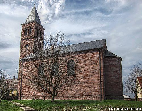 Die St.-Georg-Kirche in Siebigerode
