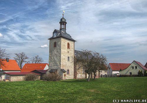 Die St.-Laurentius-Kirche in Gorenzen