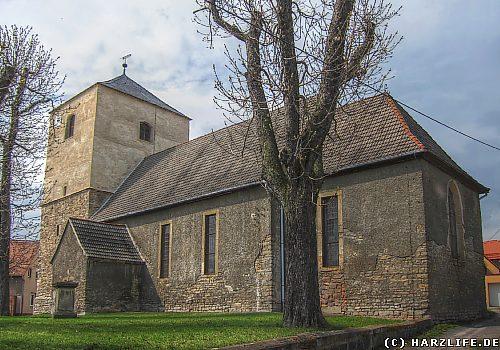 Die St.-Stephanus-Kirche in Helbra
