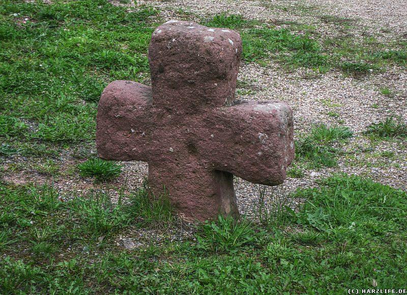 Das Steinkreuz in Pölsfeld