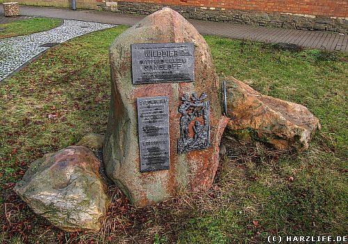 Ein Denkmal für einen Wilddieb