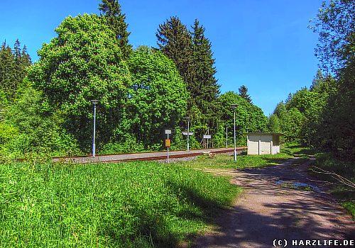 Der Bahnhof Friedrichshöhe