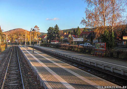 Der Bahnhof Wernigerode Hasserode