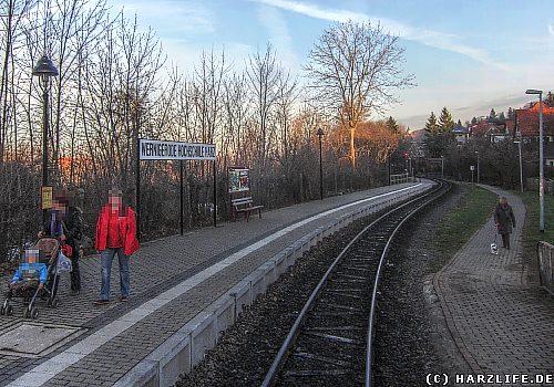 Der Bahnhof Wernigerode Hochschule Harz