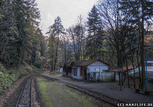 Der Bahnhof Steinerne Renne