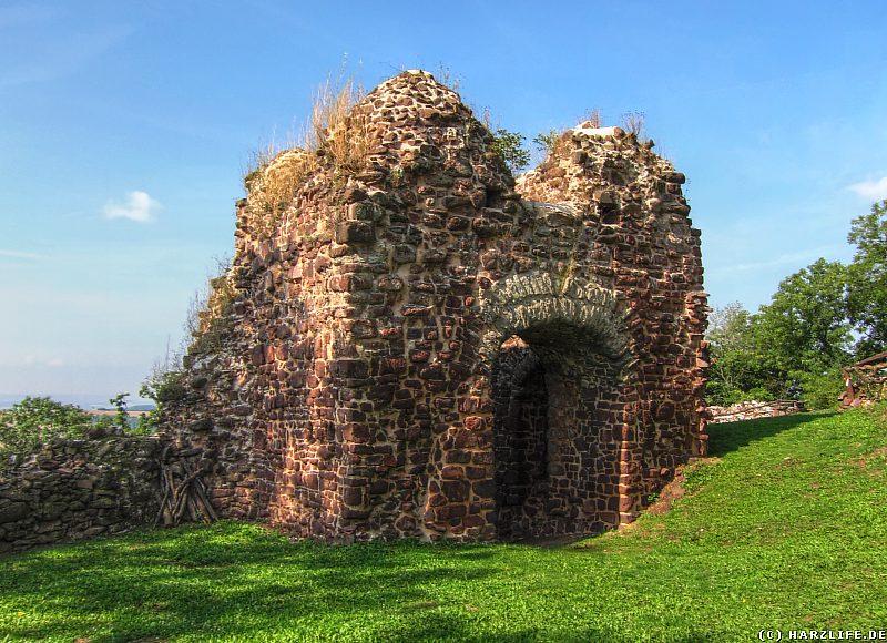 Burgruine Ebersburg - Das Kammertor