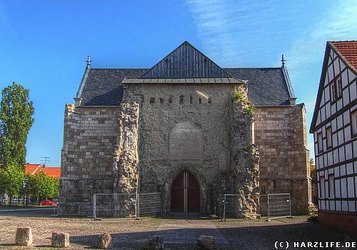 Die St. Johanniskirche auf dem Marktplatz