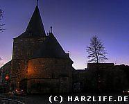 Das Breite Tor am Abend