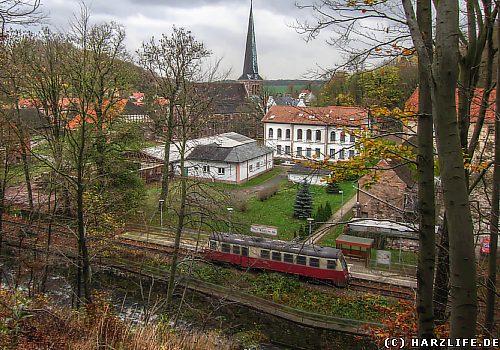 Der Bahnhof Ilfeld-Neanderklinik
