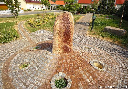 Die Heilwasserquelle auf der Müllerwiese in Ilfeld