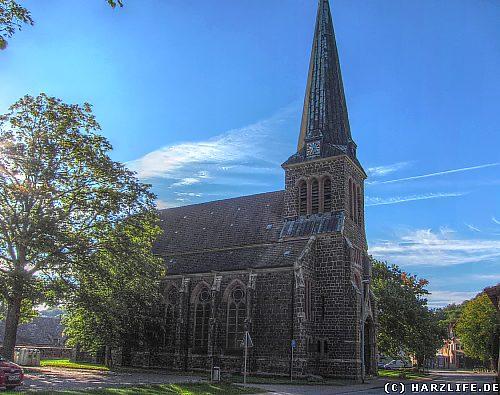 Die St. Georg-Marien-Kirche in Ilfeld