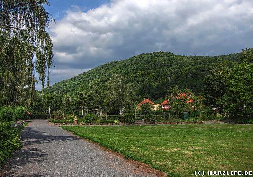 Der Kurpark in Ilfeld