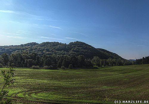 Blick zum Naturschutzgebiet Himmelsberg