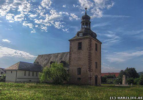Die St.-Martini-Kirche in Rottleberode