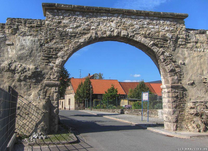 Torbogen in der Stadtmauer von Ellrich