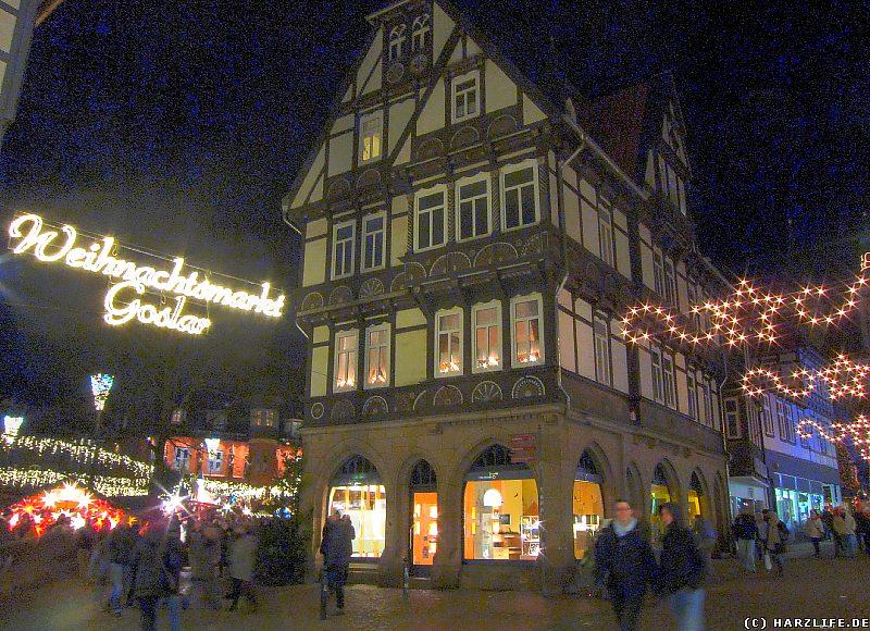 Goslar Weihnachtsmarkt.Harz Bilder Aus Goslar Bei Nacht Der Goslarer