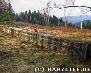 Die Reste vom alten Ostlandkreuz