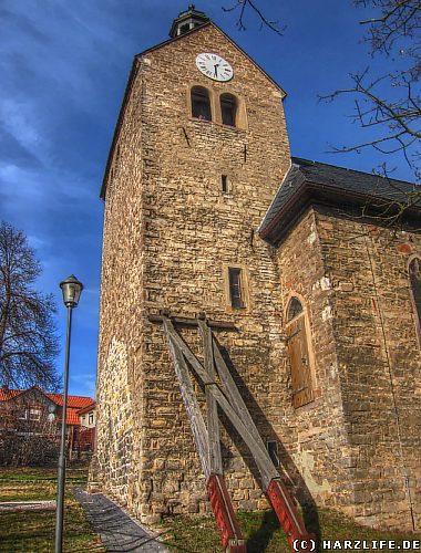 Die St.-Andreas-Kirche in Großörner