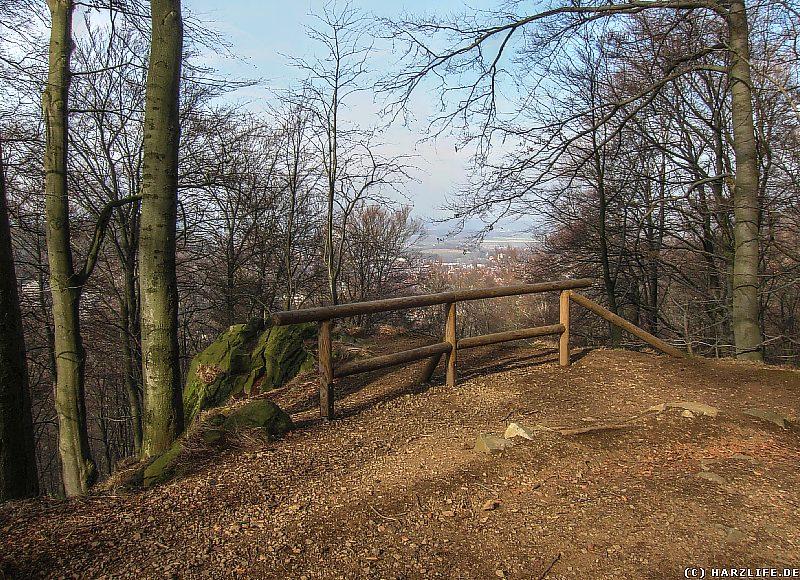 Aussichtspunkt an der Ettersklippe