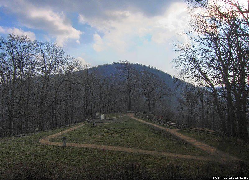 Das Gelände der Ostburg (Der sog. alten Burg)