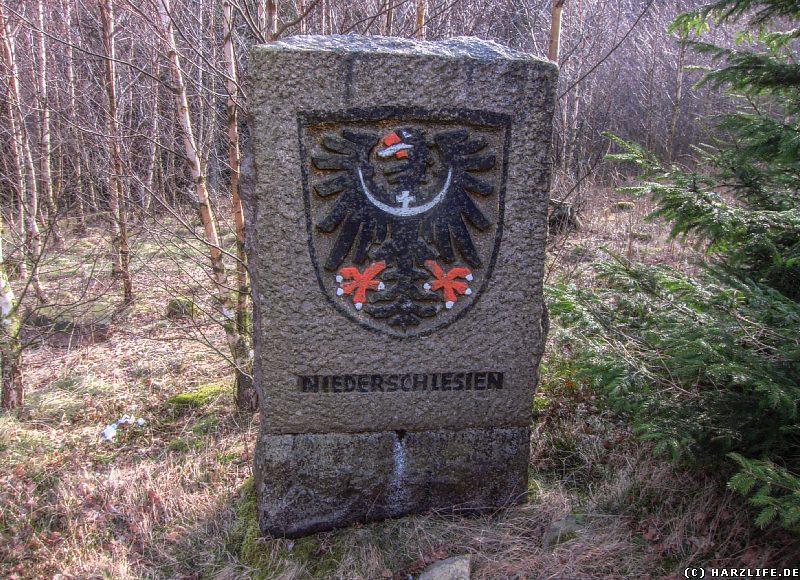 Gedenkstein für die Vertriebenen aus Niederschlesien