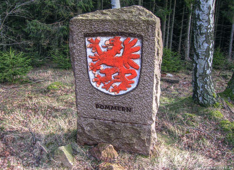 Gedenkstein für die Vertriebenen aus der Provinz Pommern