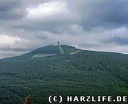 Aussicht vom Ahrensklint auf den Wurmberg