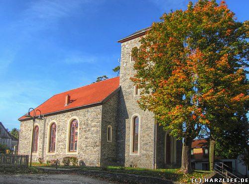 Die Petruskirche in Allrode