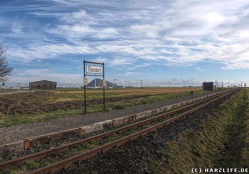 Der Bahnhof Thondorf