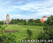 Blick zur Kernburg
