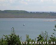 Segelboote auf dem Concordia-Sees