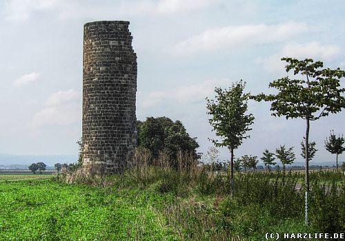 Die Gaterslebener Warte zwischen Quedlinburg und Gatersleben
