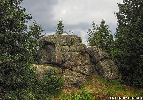 Felsen im Umfeld der Brockenkinder