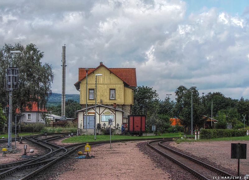 Das Eisenbahnmuseum in Gernrode