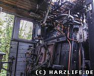 Blick in die Dampflok Nr. 20