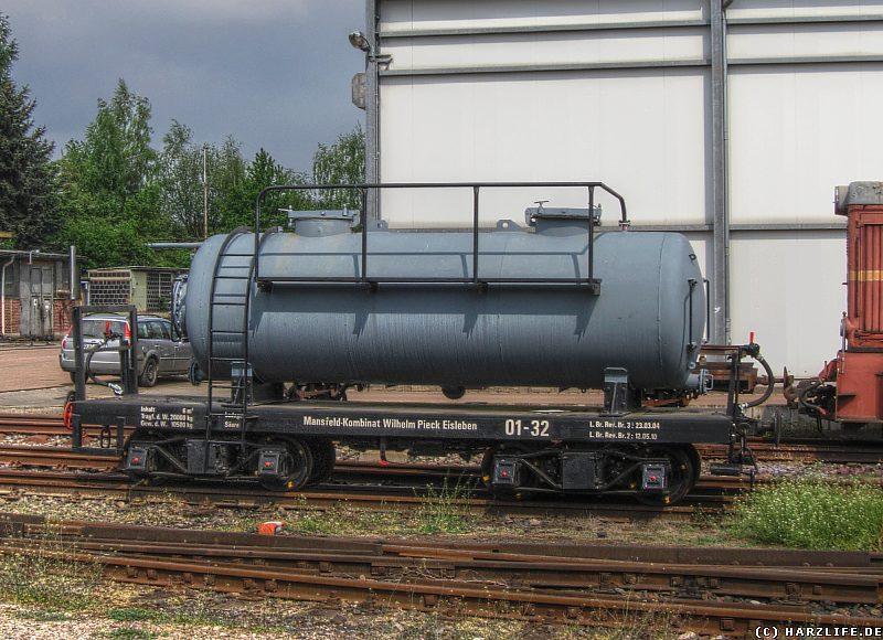 Güterwagen vom Typ Schmalspurkesselwagen (Betriebsnummer 01-32)