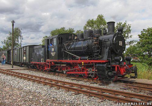 Ein Zug der Mansfelder Bergwerksbahn
