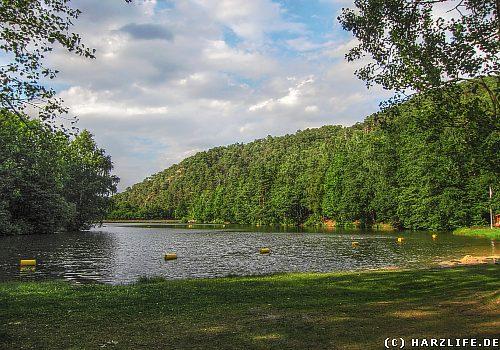 Der Osterteich bei Gernrode im Harz