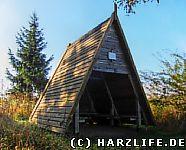 Schutzhütte an der Trageburg