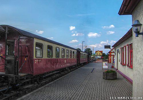 Auf dem Bahnhof Gernrode