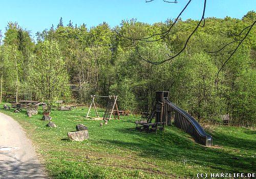 Der Waldspielplatz am Molkenhaus